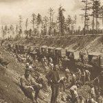 Bauetappen der Transsibirischen Eisenbahn