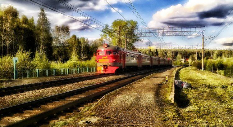 Zug Sibirien